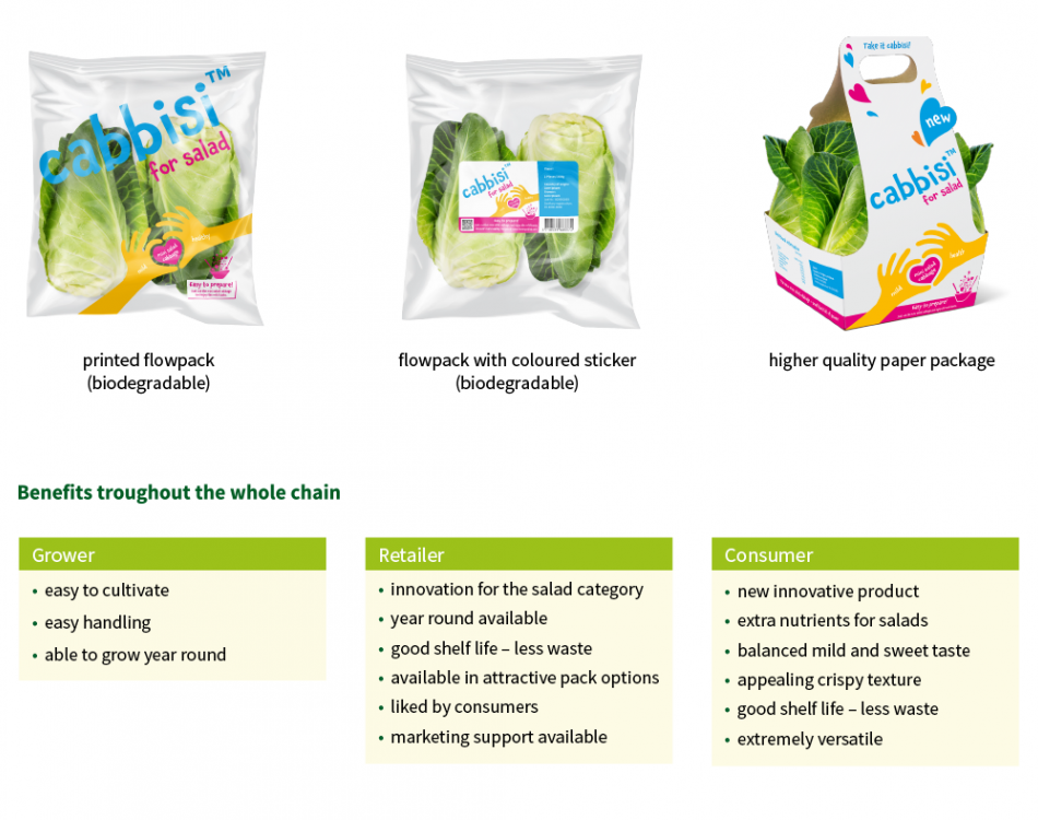 Cabbisi packaging